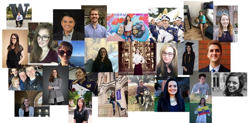 2017 grad collage