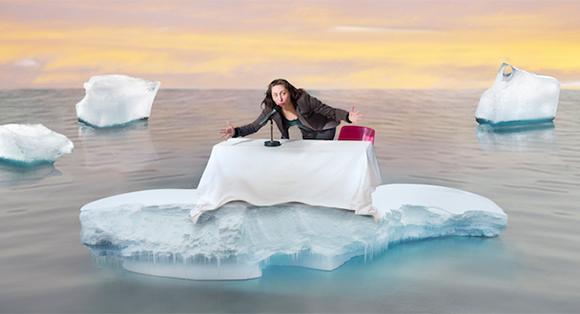 Iceberg in Lemairsm by Anna Mendelssohn
