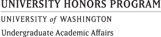 University Honors Program - University of Washington - Undergraduate Academic Affairs