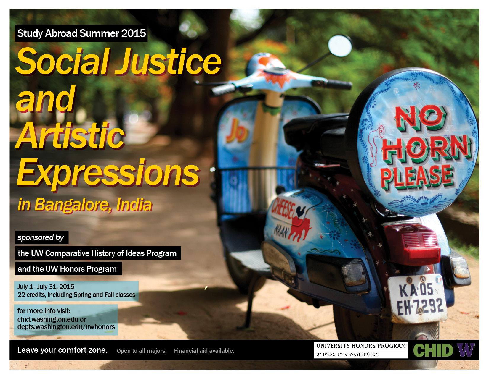 CHID - Honors - Bangalore study abroad 2015