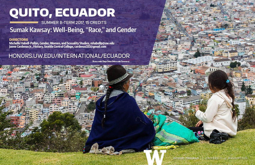 Ecuador 2017 mini poster