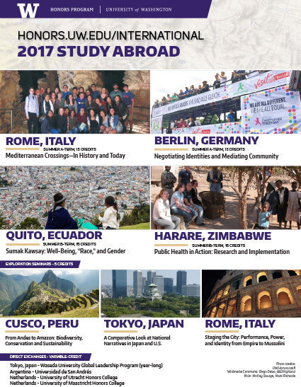 Honors 2017 study abroad flyer thumbnail