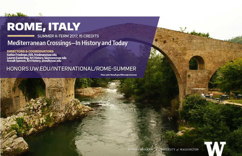 Rome Summer 2017 mini poster