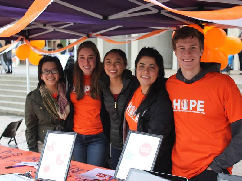 Huskies for Opportunities in Prison Education (HOPE) event