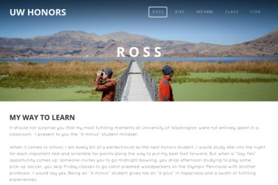 Ross Furbush portfolio preview