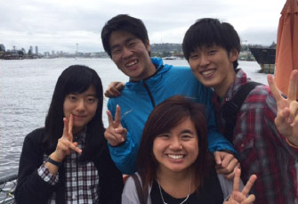 Waseda students in Seattle 2015