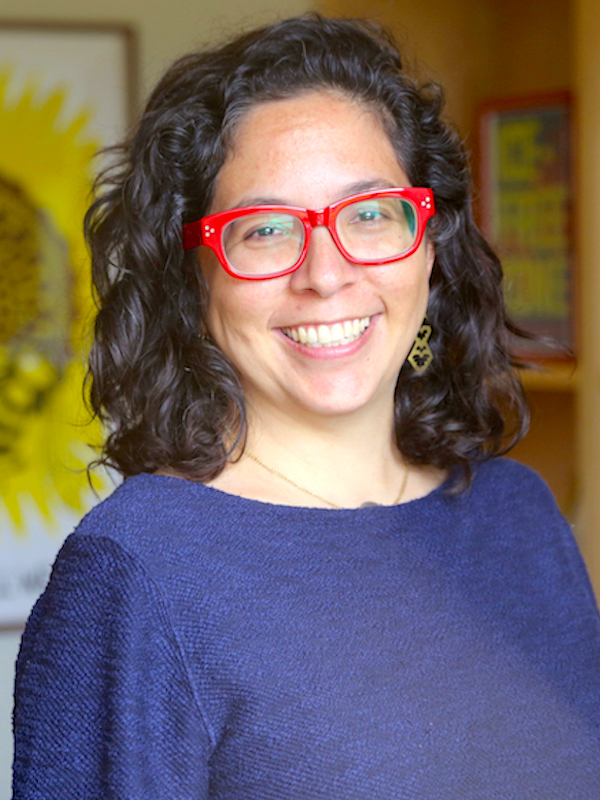 portrait of Angélica Cházaro (UW faculty, School of Law)