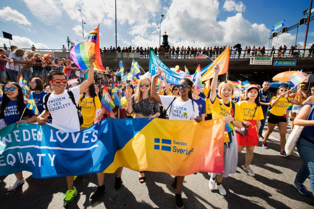 Sweden Pride Parade