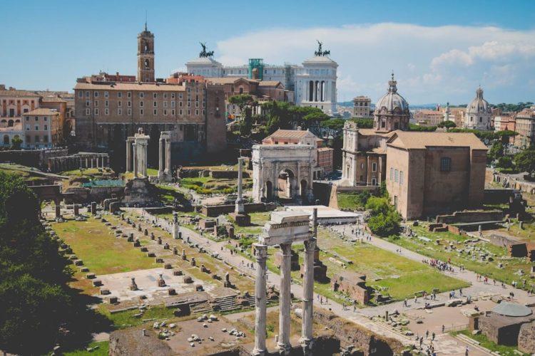 Tempio del Divo Claudio Roma Italy