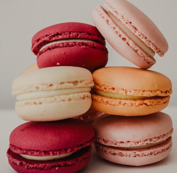 pile of colorful macaroons