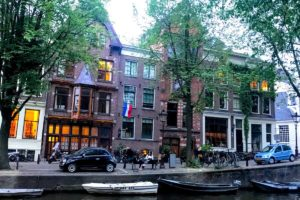 canal in Amsterdam - study abroad 2019