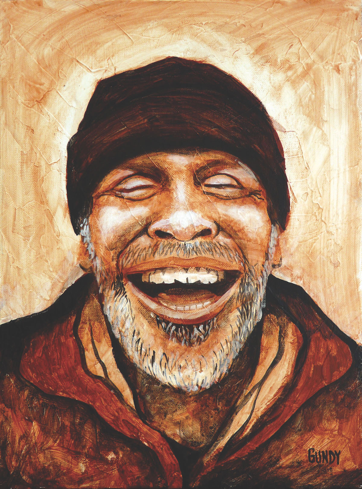 portrait of Addis Michael Jr from Real Change exhibit