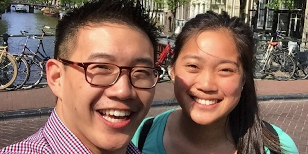Sam and May Lim in the the Netherlands in 2015